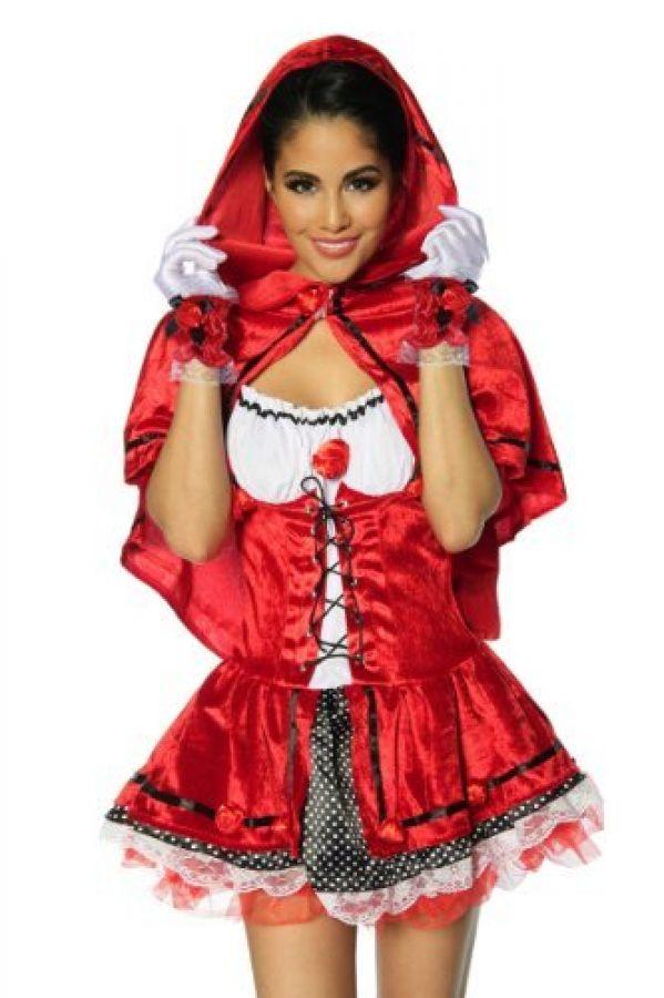 Sexy Rotkappchen Kostum Faschingskostum Damen